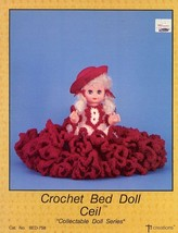 """Crochet 13.5"""" Bed Doll Ceil Outfit Td Creations PATTERN/INSTRUCTIONS/NEW... - $2.67"""