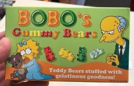 Universal Studios Exclusive The Simpsons Bobo's Gummy Bear New - $15.51