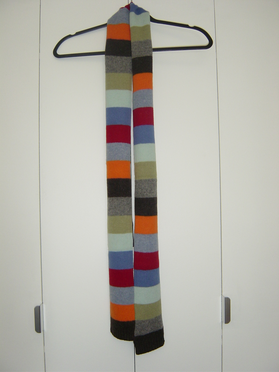 Multicolored Knit Scarf NWOT