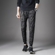 Korean version of the new men's elastic casual pants, self-cultivation s... - $48.96