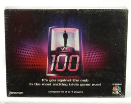 1 VS 100 Trivia Board Game Pressman 2007 -  Still New Sealed Ages 12+ - $34.60