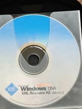 Microsoft windows DNA XML Resource Kit VOL 2- PC Program Excellent Condition - $29.74