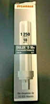 SYLVANIA CF18DD/827/ECO - 18W CFL Compact Fluorescent Bulb 20676 (Lot of... - $14.95