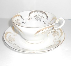 Staffordshire Stanley Bone China Cup and Saucer England - $23.36