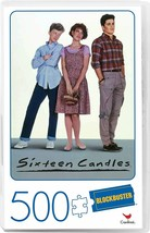 Sixteen Candles Movie 500-Piece Puzzle in Plastic Retro Blockbuster VHS Video Ca - $15.78