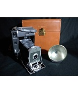 Polaroid 150 Land Camera with Case and Flash attachment - $9.99