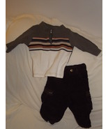 Toddler Boys sweater and pant 12 month outfit - $8.00