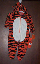 Baby Tiger Halloween Costume Size 6-9 Months - $15.00