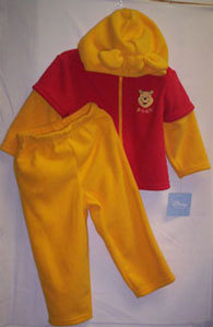 Primary image for Infant Winnie the Pooh Halloween Costume Size 12 Months