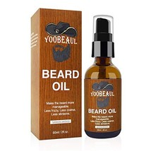 YOOBEAUL 60ml Sandalwood Beard Oil Care for Men All Natural Organic Ingredients