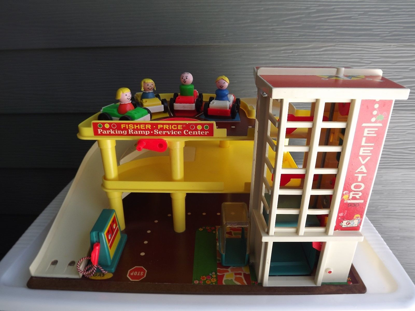Vintage Fisher Price Little People Parking and 50 similar items