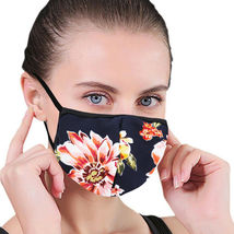 Women's Floral Reusable Face Cover Cloth Protection Mask Handmade USA Lot of 6 image 8