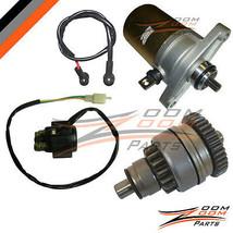 Xtreme Seaseng Qlink 49cc 50cc Starter Motor Drive Clutch Relay GoKart M... - $188.10