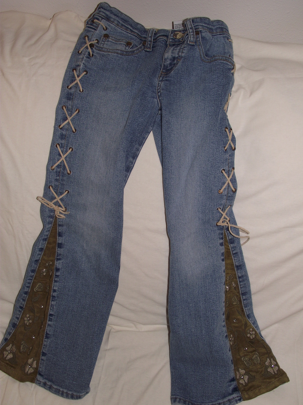 Girls size 7R jeans Mudd