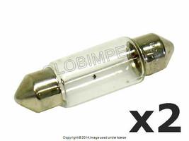 Mercedes 1973+ Dome Tail Visor License Light Bulb 12V-5W 38mm OEM NEW (2) - $14.95