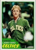 LARRY BIRD 1981 Topps 2nd Year #4 Boston Celtics REPRINT - Basketball Card - $4.90