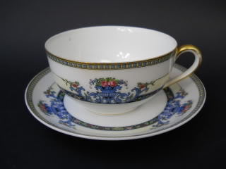 Primary image for Vintage Noritake China Dinnerware Daventry Pattern Coffee or Tea Cup Saucer '29