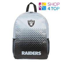 OAKLAND RAIDERS NFL OFFICIAL AMERICAN FOOTBALL CLUB BACKPACK TRAVEL BAG ... - ₹1,794.99 INR