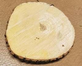 Box Elder/Ash Leaf Maple Wood slab coaster size image 2