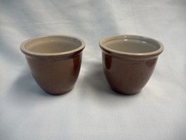 Boston Potshop 02113 Custard Desert Cups Set of 2 Ceramic 6oz - $9.80