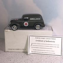 NATIONAL MOTOR MUSEUM MINT diecast model car truck 1940 Ford ambulance m... - $39.55