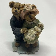 Boyds Bearstone #228434 James & Kathleen w/ Baby Blessings The Christening - $22.65