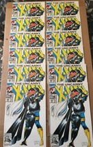Uncanny X-Men #289 Marvel Comic Book Lot Of 12 VF/NM Condition 1992 STORM  - $18.19