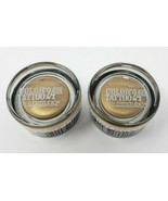 Maybelline Color Tattoo 24hr Eyeshadow 45 Bold Gold 2-Pack Eye Studio New - $11.87