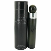 Perry Ellis 360 Black by Perry Ellis Eau De Toilette Spray 3.4 oz for Men - $29.89