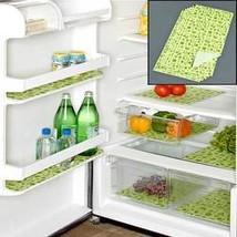 Washable Shelf or Fridge Liners (Green Set of 6 Fridge Liners) - $12.63