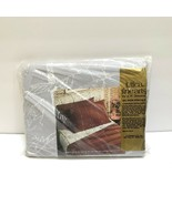 Vintage Percale Sheet J P Stevens Utica Full Flat Sheet Botanica Gray Tr... - $24.94