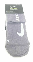 Nike Running Spark Socks Large Mens Women Dri Fit Quarter Cushion Ankle ... - $13.37