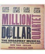 Millioin Dollar Quartet Elvis Presley Jerry Lee Lewis Carl Perkins Johnn... - $4.95