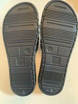 Men tunnel slides sandals blue camo camouflage insole pick size 11-13 image 3