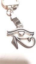 eye of horus  egyptian eye god horus metal keychain keyring
