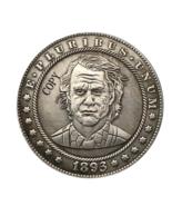 Hobo Nickel 1893-S USA Morgan Dollar Joker Horror COIN For Gift  - $5.99