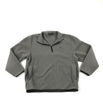 Nautica 1/2 Zip Pullover Fleece Jacke Sweatshirt Polo Extragroß Kängurutasche - $29.92