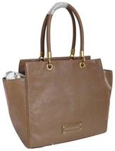 Marc Jacobs Too Hot To Handle Bentley Tan Brown Italian Leather Tote Bag *Nwt* - $269.00