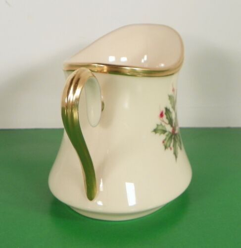 Lenox Dimension HOLIDAY Creamer and Sugar Bowl with Lid Holly Berry image 9