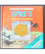 Spike's Spooky Surprise by Kate Mellentin & Tim Wood Jack o Lantern Badge - $7.00