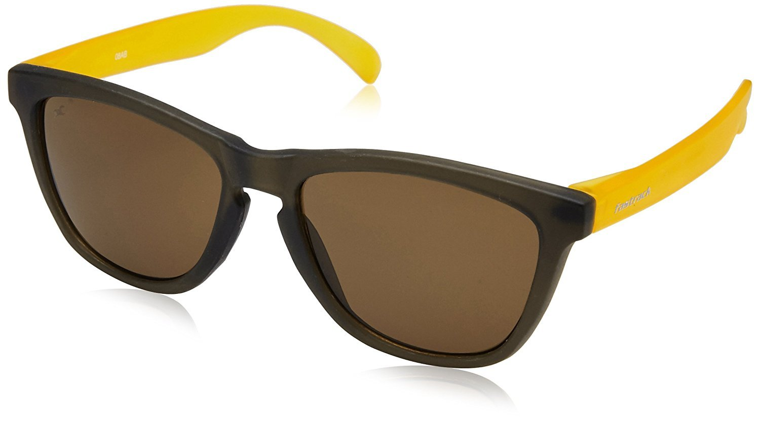 Fastrack Wayfarer Sunglasses (PC003BR5|55|Brown)