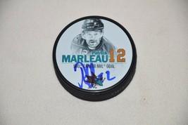 Sj Sharks Patrick Marleau Signed Autographed Hockey Puck 500 Goals Coa Proof A - $85.47
