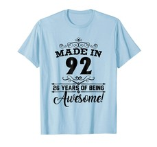 Brother Shirts - happy 1992 it's my 26th years old birthday gift ideas t... - $19.95+