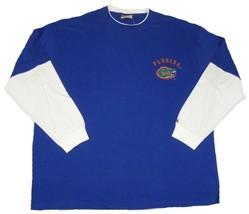 Florida Gators Shirt Men's NCAA Hangdown Tee Russell Pro T-Shirt Long Sleeve NEW