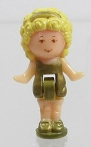 1990 Vintage Polly Pocket Doll Figure Polly Plays Princess - Polly Blueb... - $7.50