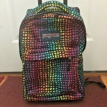Jansport Rainbow Animal Print Rolling Backpack Wheeled Travel Bag - $149.99