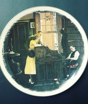 """Norman Rockwell Collector Plate """"The Marriage License"""" Issued In 1991 by Goebel - $29.65"""