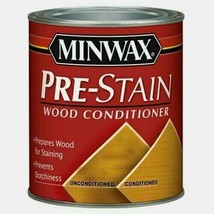 Minwax Oil-Based PRE-STAIN 1 qt. Wood Conditioner Prevent Blotchiness 61... - $19.99