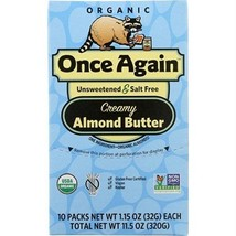 Once Again Organic Almond Butter Squeeze (10x1.5 Oz) - $26.56