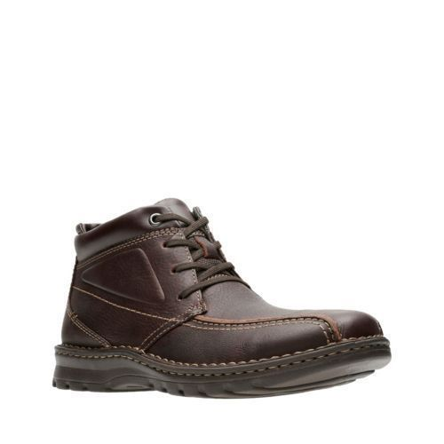 Primary image for Clarks Originals Vanek Rise Men's Brown Oily Leather 26128416